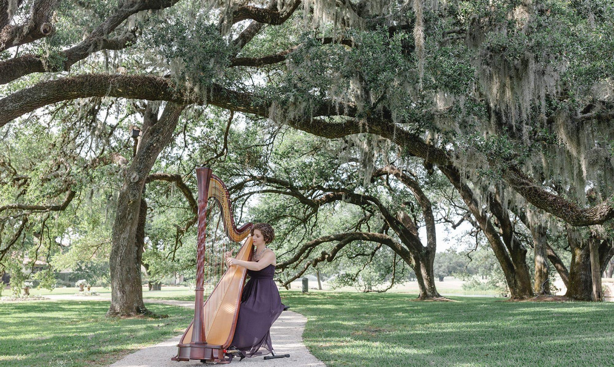 Hope Cowan, harp